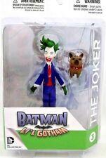 "BATMAN DC COMICS 4IN ACTION FIGURE LIL GOTHAMS ""THE JOKER & PUPPY"""