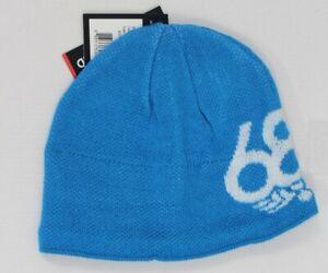 New 686 Boys Youth Icon Fleece Beanie Blue