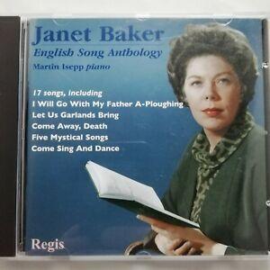 Anthology of English Song / Janet Baker / Regis CD RRC 1265