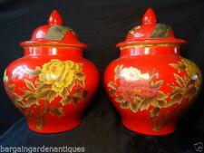 Unbranded Antique Style Round Decorative Vases