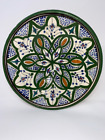 Espana Clay Collector Wall Plate Multicolor Art Pottery Hand Painted Signed
