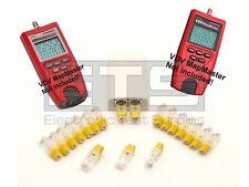 Platinum Tools VDV MapMaster T119c T129 T121c RJ45 Remote Identifier Mapper IDs