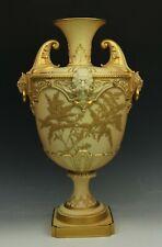 """19C 14"""" Royal Worcester 1405 Vase Urn WorldWide"""