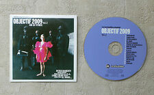 CD AUDIO INT / OBJECTIF 2009 VOL.2 LES INROCKUPTIBLES CD COMPILATION  PROMO 16T
