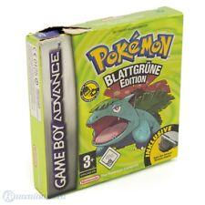 GameBoy Advance Spiel - Pokemon Blattgrüne Edition + Adapt. (DEUTSCH) (mit OVP)