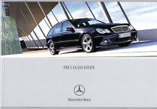 Mercedes-Benz C-Class Estate 2004-05 UK Market Sales Brochure