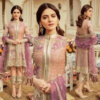 Pakistani Imrozia Maria B Collection Designer Suit Wedding Dress Shalwar Kameez