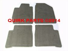 2002-2006 Nissan Altima Frost Gray Carpeted Floor Mats Set Of 4 OEM NEW Genuine
