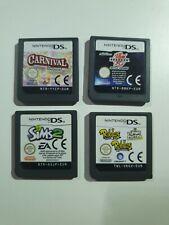 The Sims 2, Bakugan, Carnival Games & Rabbids Nintendo DS PAL Cartridges Only