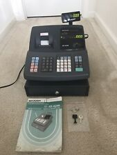 Sharp Xe A206 Cash Register With Manual And All Keys Working