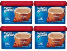 4 Maxwell House HAZELNUT CAFE Coffee Creamer Drink Mix Beverage Mix