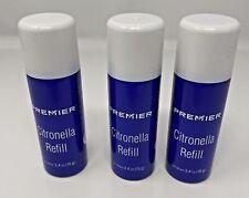 3 - 2.4oz cans ~ Premier Pet Safe Anti-Bark Dog Collar Spray Refill ~ Citronella