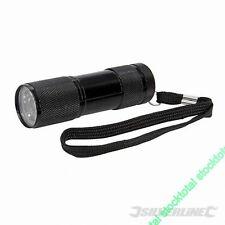 Linterna LED luz ultravioleta IDEAL FALSIFICACION- MANCHAS- FUGAS GAS 257229