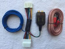 Honda Acura Factory Radio Add A Subwoofer Amplifier Plug & Play Wire Harness+RCA