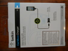 New Sealed Belkin Micro Car Charger for iPod iPhone 3 4