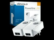 DEVOLO dLAN 550 duo+ POWERLINE Adapter Starter Kit, Powerlan, Steckdose