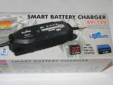 Caricabatterie AUTO 3.8A 6/12V 1.2-120Ah LiFePO4 mantenimento ALCAPOWER 702924