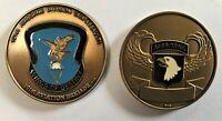 101st Airborne Division Air Assault Aviation Brigade Challenge Coin
