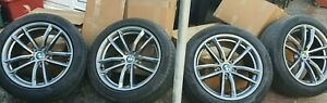 "18"" Genuine BMW 5 Series 662M Alloy Wheels & Tyres"