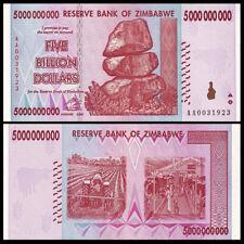 Zimbabwe 5 Billion Dollars, 2008, P-84, Banknote, UNC, 100 Trillion Series