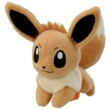 Takara Tomy Pokemon series Plush Doll On Shoulder- Eevee Soft Toy with Clip Mini