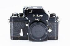 Nikon F FTN  35mm SLR Film Camera (722) from 1971 Black