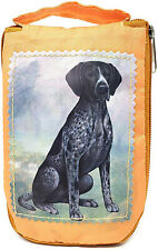 German Shorthaired Pointer Foldable Tote Bag - Durable, Waterproof - Zipper