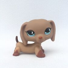Littlest Pet Shop #518 girl's Collection LPS dog figure lps toys bronw Dachshund