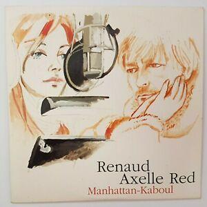 RENAUD & AXELLE RED ♦ CD PROMO ♦ MANHATTAN-KABOUL