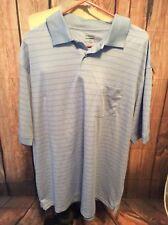 Roundtree & Yorke 2XT, NWT, Light Blue Mens Polo Shirt