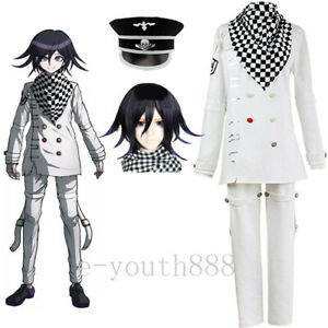 DanganRonpa Dangan-Ronpa V3 Cosplay Anime Ouma Kokichi Costume Uniform Suit Set
