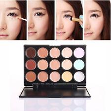 15Colores Corrector Crema Concealer Maquillaje de Cara Contorno Paleta