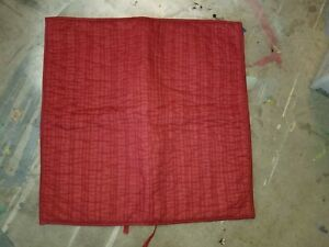 """Pottery Barn """"Red Stitch"""" Quilted Euro Sham"""