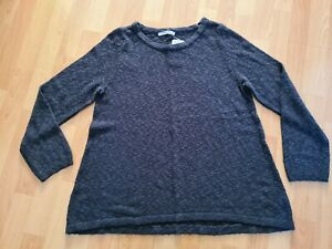 BNWT charcoal black loose jumper top  from George size 14
