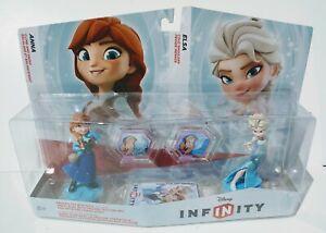 NEW Sealed Disney Infinity 1.0 Anna Elsa Frozen Double Pack Figures US version