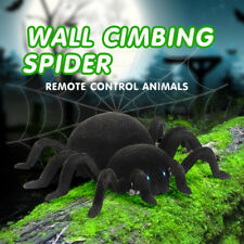 Black RC Wall Climbing Spider Remote Control Car Kids Adult Prank Funny Toy Gift