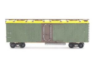 HO Ambroid Canadian Pacific 36ft 8-Hatch Reefer, Assembly+Paint, Needs Final Tch