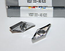 VCGT 333 AS IC20 ISCAR *** 10 INSERTS *** FACTORY PACK ***
