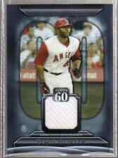 TORII HUNTER 2011 TOPPS 60 SERIES 1 GAME USED JERSEY