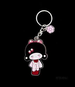 Porta Ces Collezione Bambola Giapponese Kokeshi Con Strass E2 8358