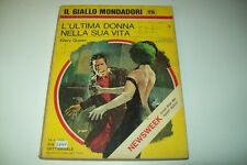 IL GIALLO MONDADORI-N. 1215-ELLERY QUEEN-L'ULTIMA DONNA NELLA SUA VITA-14/5/1972