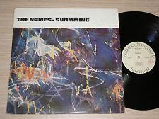 THE NAMES - SWIMMING - RARO LP 33 GIRI ITALY BASE RECORD