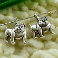 Free Ship 90 pcs tibetan silver dog charms 18x13mm S1635