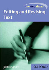 One Step Ahead: Editing and Revising Text (Get Ahead in)-ExLibrary