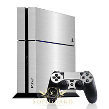 Video Game Accessories Video Games & Consoles Hot Sale Sopiguard Brushed Gunmetal Vinyl Skin Full Body Sony Ps4 Playstation 4