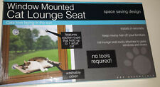 2 Cat Kitty Beds Window Suction Mounted Hammock Cup Suction Hammock Hanging 2ct.