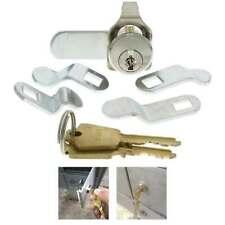 Universal Mailbox Mail Box Lock 5 Cam Keyed Locks Cabinets Drawer Locking Tool