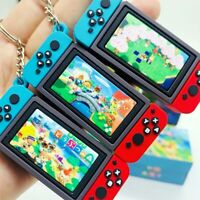 New Nintendo Switch Car Keyring  Fashion Soft Rubber PVC Key Chains N_N