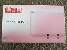 BRAND NEW Nintendo 3DS XL White & Pink Handheld System Console Factory Sealed!!