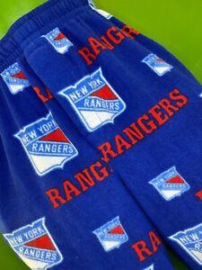 M577/135 NHL New York Rangers Fleece Pyjama Bottoms Pants Trousers Men's Small